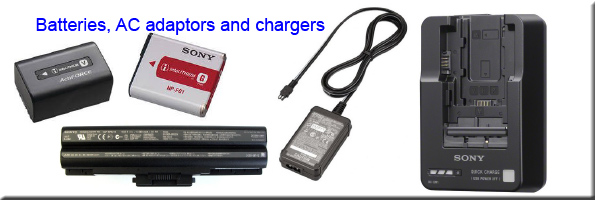 Batteries, AC Adaptors & Chargers