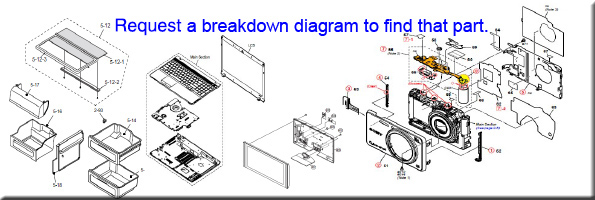 Request a breakdown diagram to find that part.